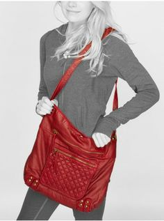 Pocket Quilted Cross Body Bag - Accessories - Clearance