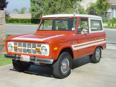 Want to turn it into a Broncos bronco!!!!Classic ford bronco with special decor package