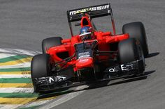 Marussia F1 in action