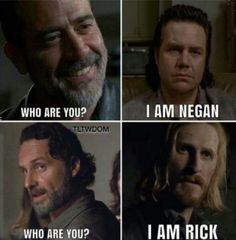 The Walking Dead #TWD #NEGAN #EUGENE #ded #RICK #DWIGHT can u trust anyone? #TEAMSURVIVORS #RICKmfGRIMES