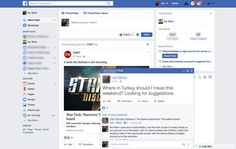 Facebook is testing pop-up posts The social network is making some of your friends' posts look like chat windows in your desktop browser.