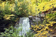 Upper Hungarian Falls, Michigan | 17 Midwestern Landscapes That Are Totally Unreal