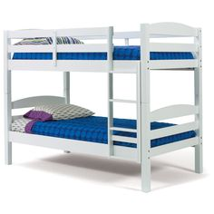 Have to have it. Hammond Bright White Twin over Twin Bunk Bed $669.99