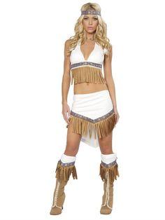 #halloween #costumesforhalloween #costumeideas #adultcostumes Wolf Hunter Halter Skirt Adult Costume available at Teezerscostumes.com