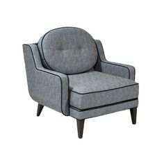 I pinned this Armen Living Draper Arm Chair from the Orlando Bloom: Curate for a Cause event at Joss and Main!