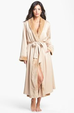 Shimera 'Lux' Reversible Satin Robe available at in Black Holiday Lingerie, Feminine, Nordstrom, Clothes For Women, My Style, Skirts, Sweaters, How To Wear, Bedtime