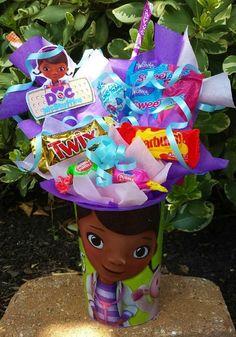 Doc Mcstuffins Birthday Party, 3rd Birthday Parties, 2nd Birthday, Birthday Ideas, Bday Girl, Little Girl Birthday, Candy Party Favors, Party Gifts, Party Items