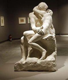 Rodin's The Kiss, Musee Rodin, Paris