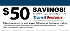 $50 off Coupon for Senior Moving and Shipping services with Transit Systems.  http://www.transitsystems.com/senior_discount/