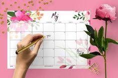 Planer miesięczny do pobrania - MAJ Maj