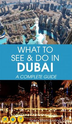 is a unique destination. This complete travel guide shares what to see and do in this Emirate plus 3 of the best day trips from Dubai. Practical insider tips from an expat in Dubai. Travel Advice, Travel Guides, Travel Tips, Travel Destinations, Travel Packing, Holiday Destinations, Budget Travel, Dubai Travel, Asia Travel