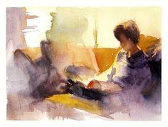 Aaron Coberly, Caspian reading, 2010