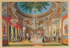 Royal Pavilion, Brighton: Banqueting Room (Nash)