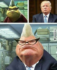 Funny Donald Trump memes are having a hell of a year. We've compiled the best Donald Trump memes, jokes, gifs, pics, and vids from Humour Disney, Funny Disney Jokes, Funny Animal Jokes, Crazy Funny Memes, Disney Memes, Funny Puns, Really Funny Memes, Funny Laugh, Stupid Funny Memes