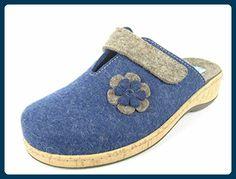 Fidelio 255001-09 Größe 42 Blau (blau) - Hausschuhe für frauen (*Partner-Link)