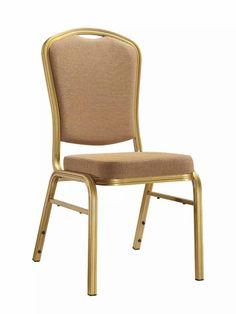 Chaise aluminium chrome Bistro Empilage Extérieur Jardin Mobilier de Haute Qualité UK