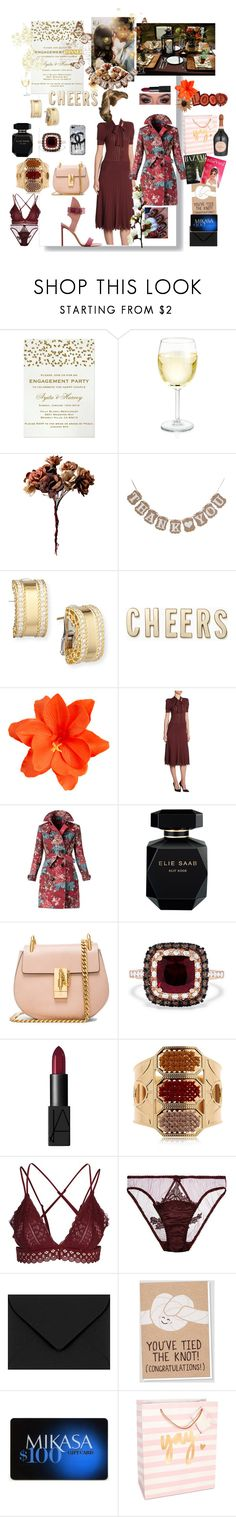 """""""BFF'S Engagement dinner (Guest)"""" by aliceridler ❤ liked on Polyvore featuring Roberto Coin, Kate Spade, ASOS, Ralph Lauren Collection, Burberry, Elie Saab, Chloé, Effy Jewelry, Lauren Conrad and NARS Cosmetics"""