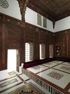 Damascus Room 1119A.H.& c.1707A.D. Damascus,... | gdfalksen.com