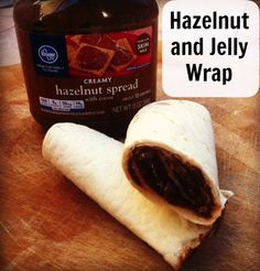 Hazelnut and Jelly Wrap