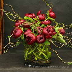 peonies arrangement