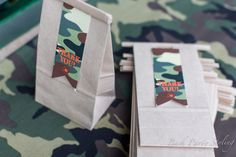 Favors at a Military Party #military #partyfavors