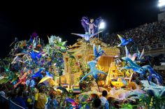 Rio de Janeiro. One day I'll go there just to experience the carnival