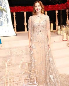 Emma Watson proved us that fairytale is real after stepping out in this elegant Elie Saab gown at 'Beauty and the Beast' film premiere in Shanghai.  via VOGUE THAILAND MAGAZINE OFFICIAL INSTAGRAM - Fashion Campaigns  Haute Couture  Advertising  Editorial Photography  Magazine Cover Designs  Supermodels  Runway Models