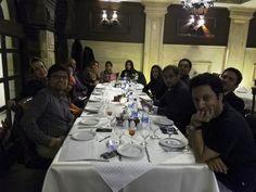 برگزاری مراسم تولد برسام در رستوران خاقان در کنار همکاران، دوستان و خانواده این عزیزان