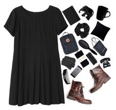 """i want you to take me serious"" by txri ❤ liked on Polyvore featuring Monki, Fjällräven, FiloFax, Topshop, The Elephant Family, Falke, H&M, 10 Strawberry Street, Fogarty and Chanel"
