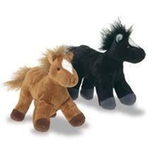Fiesta Crafts Horse and Rider Finger Puppet Set 2 Piece Gift Set