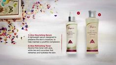 Luxurious: Treat the skin to perfectly matched products www.alexandrapeacock.flp.com