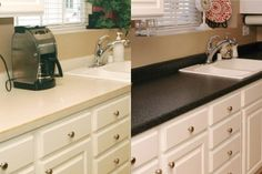 Problem Countertops: Replace or Refinish? DIY or Pro? | DoItYourself.com