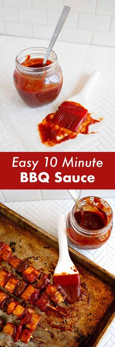 10 Minute BBQ Sauce – A Beautiful Mess