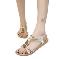 on sale a0ea3 bd73b Women Sandals Summer Flip Flops Womens Beach Sandals Women Shoes Bands Flat  Shoes Gladiator Sandalias Mujer Driving Shoes