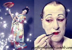Geoffrey Rush, Colin's Geisha Girl (see Colin Firth's Golden Globes 2011 onstage comments)
