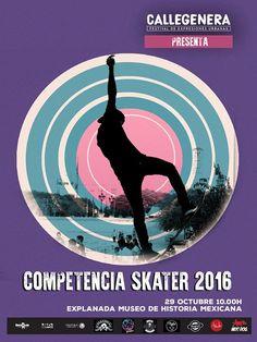 #Callegenera2016 Sólo falta una semana para conocer a los más extremos #Skaters de la ciudad! Es una batalla que te llevará por los aires.  Octubre 29 | 10:00h Explanada del Museo de Historia Mexicana #EstoEsCONARTE