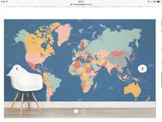 Contemporary grey world map wallpaper mural wallpaper murals contemporary grey world map wallpaper mural wallpaper murals contemporary and butler pantry gumiabroncs Choice Image