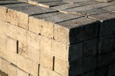 Casting your own paving or veneer bricks from concrete can save you money, but commercial molds are expensive. Making your own brick molds is easy and a lot cheaper. Concrete Statues, Concrete Bricks, Brick Molding, Diy Molding, Building A Patio, Small Vegetable Gardens, Cement Crafts, Mold Making, Sculptures