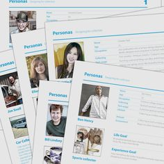 Personas | Service Design Tools description
