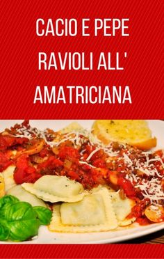 The Chew co-hosts were in Orlando, Florida at the Walt Disney World Resort for the International Food and Wine Festival and Mario Batali shared a recipe for Cacio E Pepe Ravioli All' Amatriciana, or ravioli, which is much easier to make than it is to pronounce!