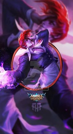 Anime Wallpaper Phone, Cool Anime Wallpapers, Phone Wallpaper Images, Hero Wallpaper, Bruno Mobile Legends, Miya Mobile Legends, King Of Fighters, Hero Fighter, Alucard Mobile Legends