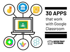 30 apps that work with Google Classroom Teaching Tools, Teaching Resources, Teaching Ideas, Spreadsheet App, Online Whiteboard, Best Free Apps, Blended Learning, Project Based Learning, School Counseling