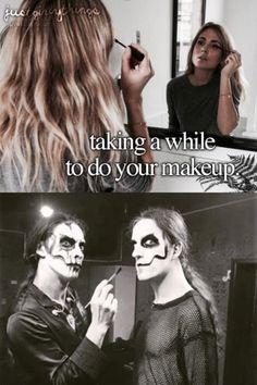 Carach Angren makeup