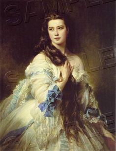 Victorian Paintings of Women | MadameBarbedeRimsky-Korsakov-RESIZE.jpg picture by heavenboundpress