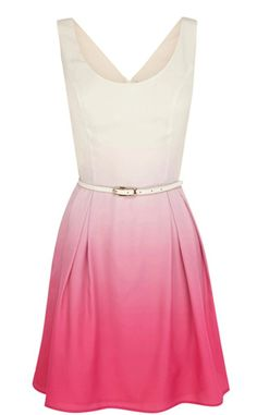 pink ombre bridesmaid dress...shttp://www.imagen-vipp.com/uave y sutil
