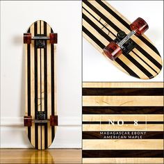 SIDE PROJECT SKATEBOARDS – 18 handcrafted repurposed wood skateboards
