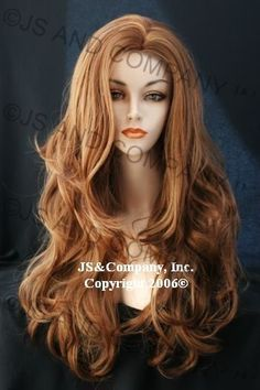 Luscious Layered extra long fox Strawberry Blonde and Ginger mix WIG WAAH 27c29 #Unbranded #FullWig