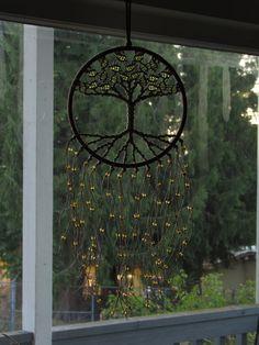 Árbol de la Vida Decor Wall Hanging Dreamcatcher por Evergreenbohemian