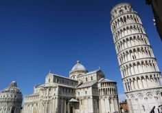 The Leaning Tower of Pisa: One of Italy's Most Famous Monuments: The Leaning Tower of Pisa and Cathedral