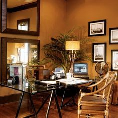 All in the (Brown) Family:  Walls from Taupe to Chocolate